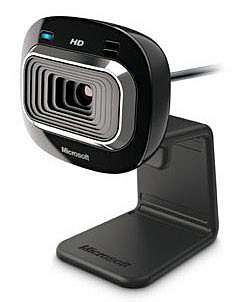 WEB-КАМЕРА MICROSOFT LIFECAM HD-3000, ПЛОСКИЙ ЭКРАН, USB 2.0, BLACK